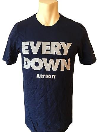 4f145c520a Nike Men s T-Shirt Every Down Just do It Athletic Cut 902396 (S ...