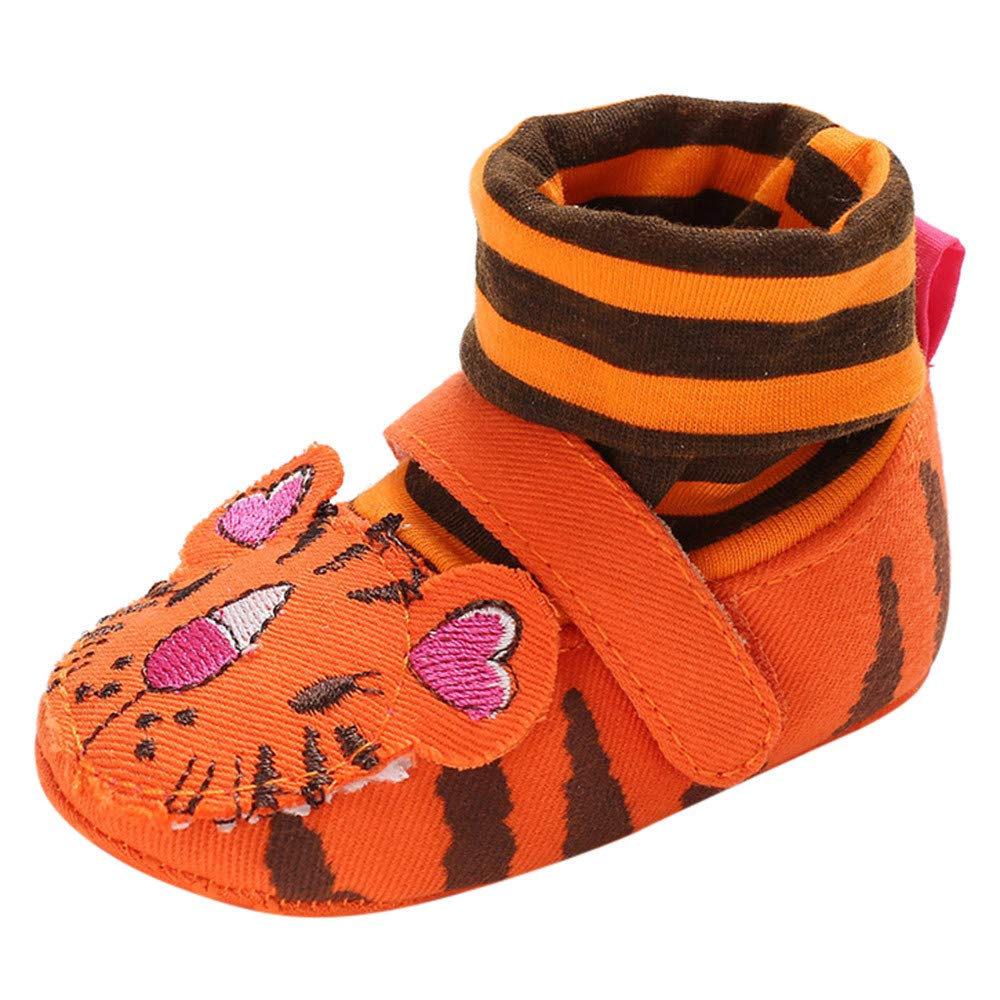 XUANOU Infant Cartoon Crib Winter Boots Warm Shoes Cute Animal Embroidery Socks