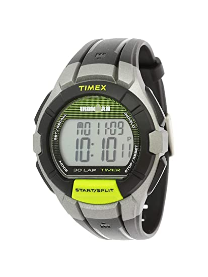 Men's Watch Tw5k95800 Timex Polyurethane Black Sport Quartz KJF1c5u3Tl