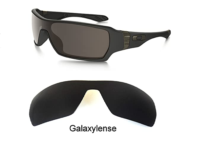 0c08bfc866 Amazon.com  Galaxy Replacement Lenses For Oakley Offshoot Sunglasses Black  Polarized  Clothing