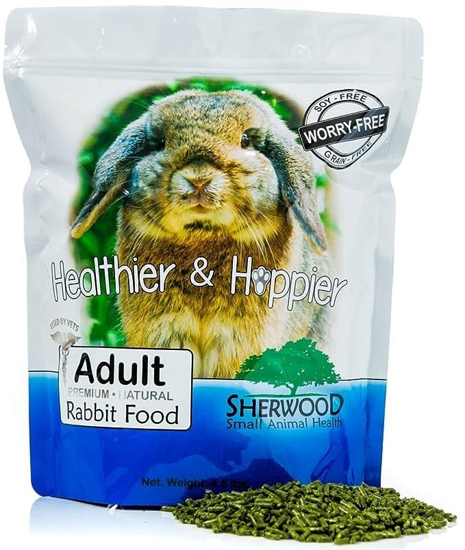 Sherwood La Comida de Conejo, Adulto - Mezcla Timoteo 4.5 LB: Amazon.es: Productos para mascotas