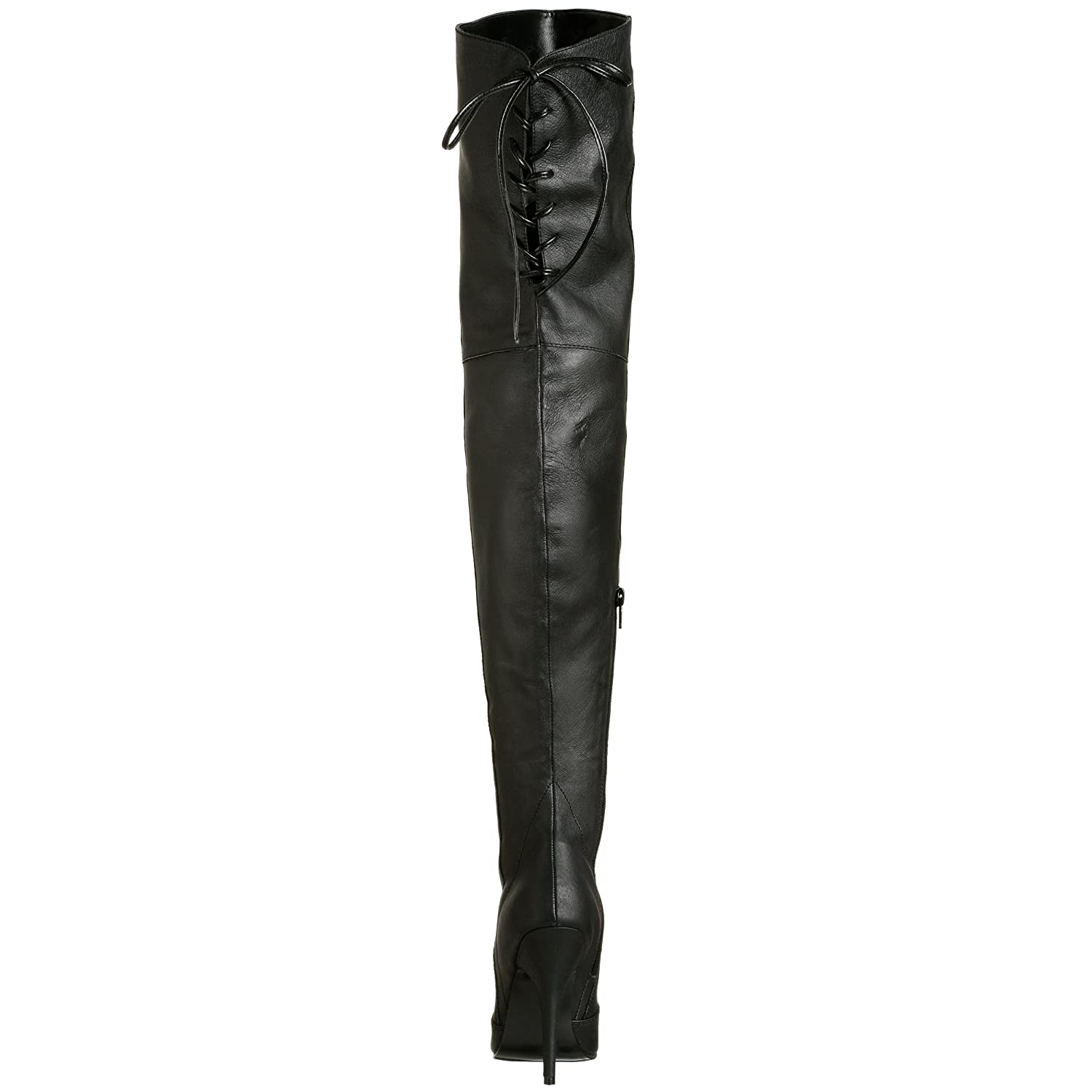Pleaser Women's Legend-8899 Boot B00125V132 13 B(M) US|Black Leather