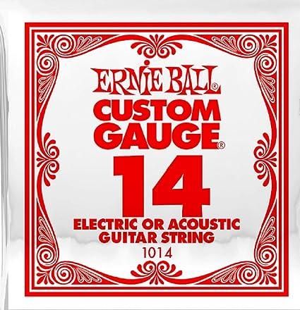 Cuerda eléctrica slinky plana 014