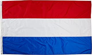 product image for Annin Flagmakers Model 195996 Netherlands Flag Nylon SolarGuard NYL-Glo, 5x8 ft, 100% Made in USA to Official United Nations Design Specifications