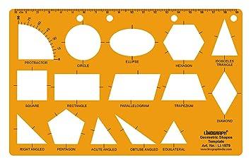 Linograph Geometrische Formen Zeichnung Drafting Schule & Büro ...