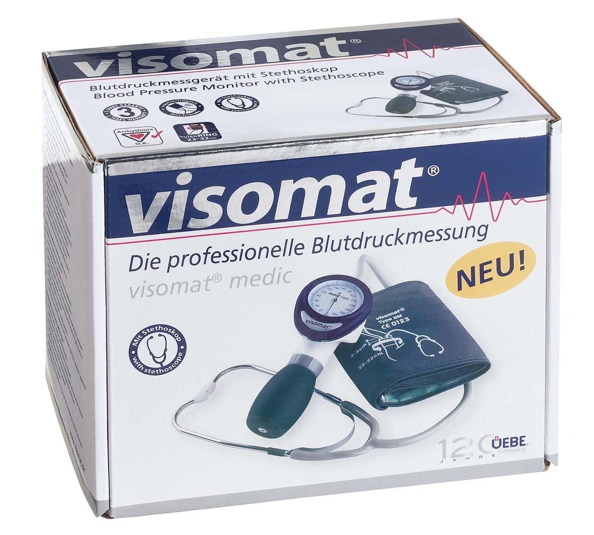Visomat 27030 Medic - Tensiómetro con estetoscopio: Amazon.es: Industria, empresas y ciencia