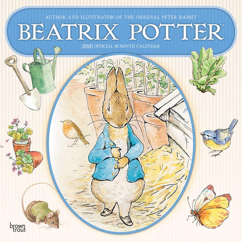"""PETER RABBIT BEATRIX POTTER PETER/'S GARDEN BIG STICKER 4.5/"""" X 12/"""" NEW A23189"""