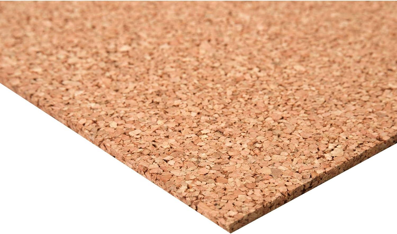 acerto24 - Planchas de corcho (60 x 100 cm, 5 mm grosor, elástico y antiestático): Amazon.es: Bricolaje y herramientas