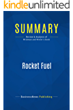 Summary: Rocket Fuel: Review and Analysis of Wickman and Winter's Book