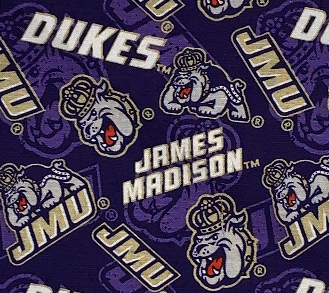 James Madison Dukes Dog Bandana Large