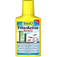 Tetra FilterActive 100 ml - Contiene bacterias iniciadoras vivas y bacterias limpiadoras reductoras de lodo