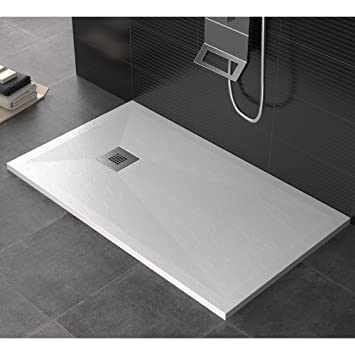 Maier Dharma Receveur de douche en pierre - Blanc -Existe en ...