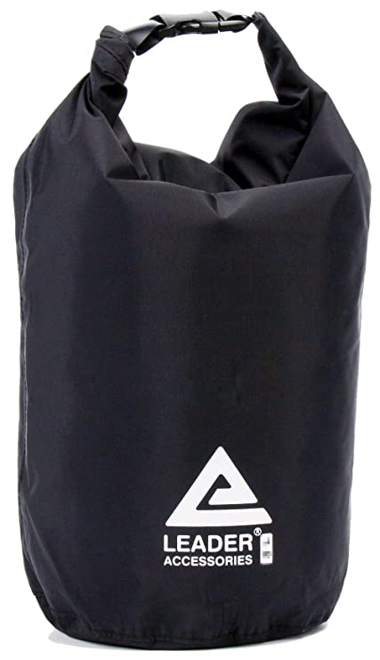 Leader Accessories New Waterproof and Compression Lightweight Dry Sack  (Black dbf22193c4c8a