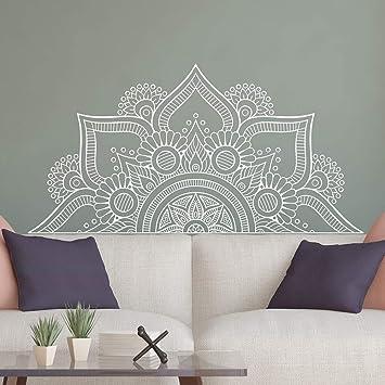 Nuevo diseño de media mandala pegatinas de pared para el ...