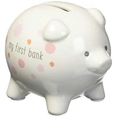 Enesco My First Piggy Bank Pink : Baby [5Bkhe1807420]