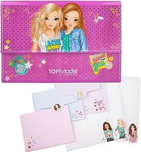 Clasificador y Conjunto de papel de cartas, diseño de Top Model ...
