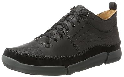 Mens Trifri Hi High Sneaker, Brown, 6.5 UK Clarks