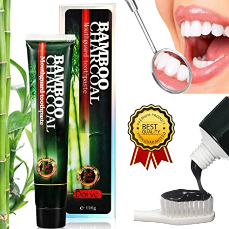 Buy Activated Charcoal Teeth Whitening Toothpaste Online At Low Prices In India Amazon In
