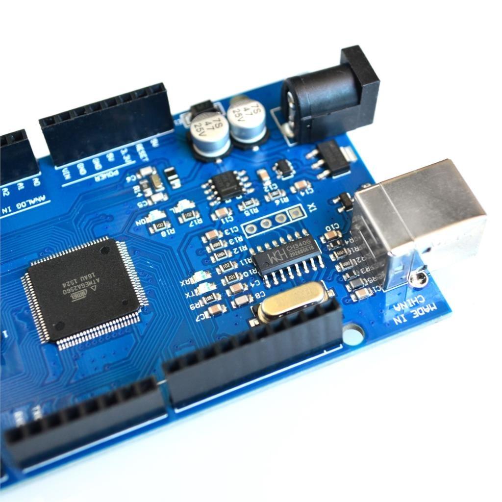 ATmega2560-16AU CH340G 10sets Mega 2560 R3 Mega2560 REV3 Board with USB Cable