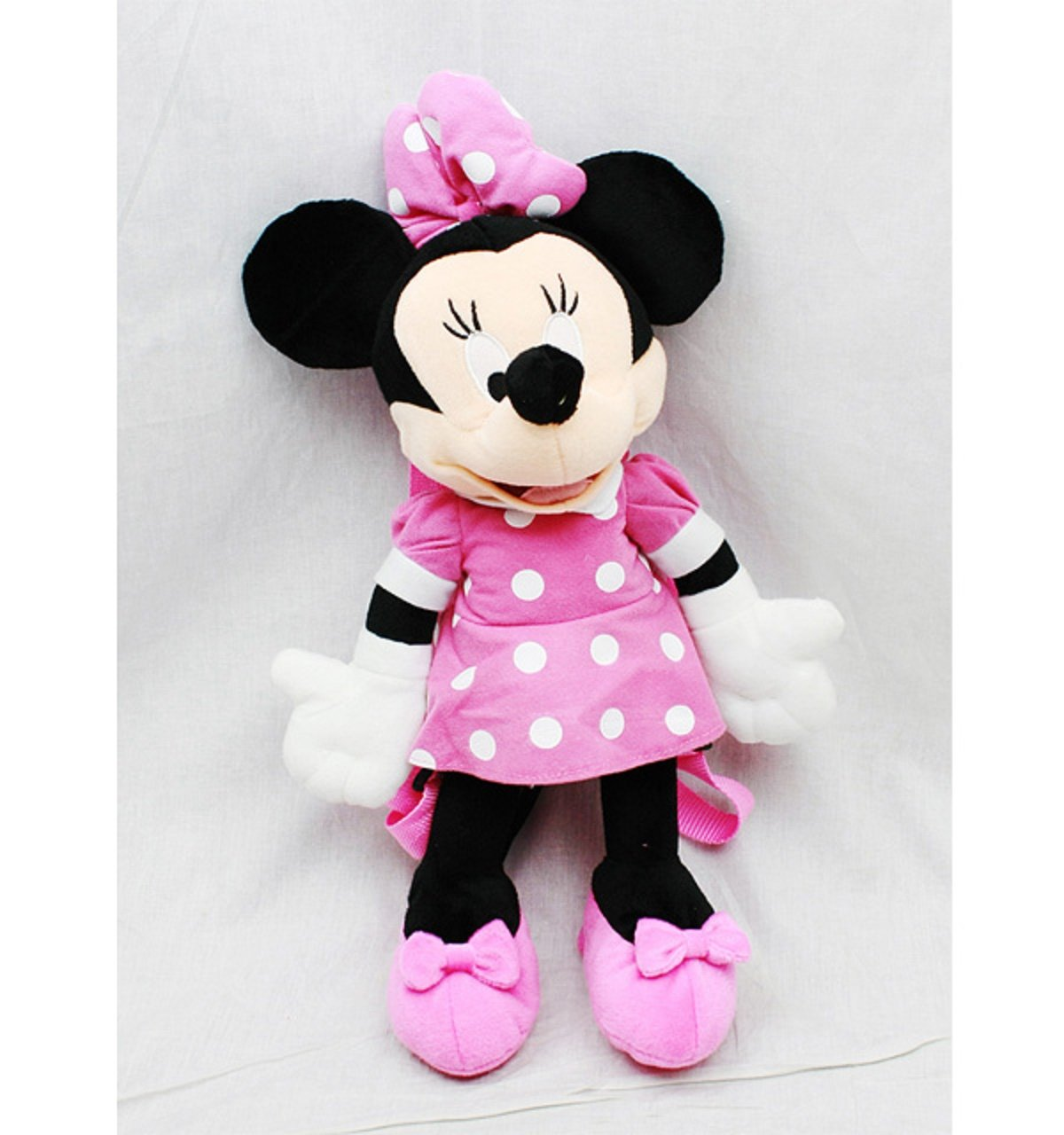 Minnie Mouse Plush Backpack  3D Backpack  16 Inch Mininie by Disney