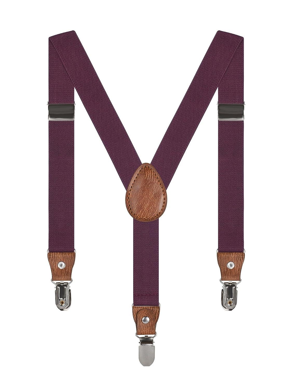 Irypulse Baby Kids 3 Clips Braces 1-7 years Boys Girls Y-Shape Suspenders Elastic Adjustable Belt PT008