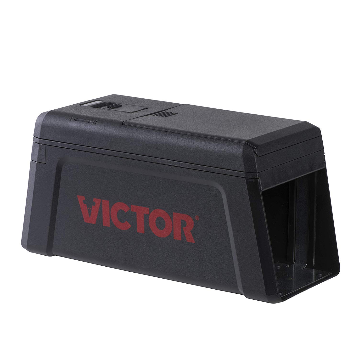 Victor M241 No Touch, No See Upgraded Electronic Rat Trap, 1 Black by Victor