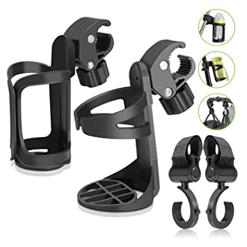 Bike Cup Holder- Uiter Upgrade Version Drink Cup Holder Universal 360 Degrees Rotation Stroller Drink...