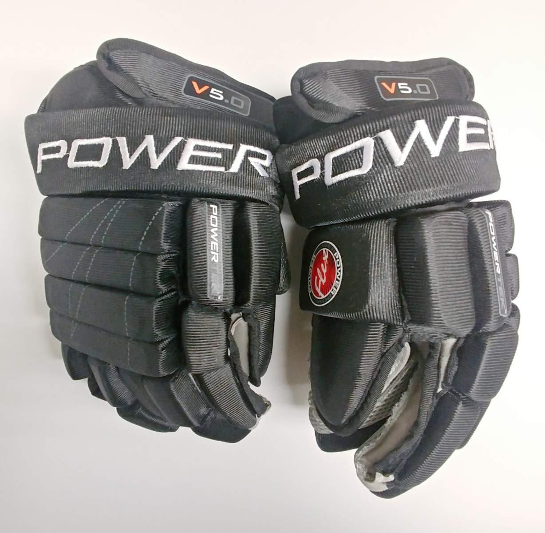 PowerTek V5.0 Tek Youth Ice Hockey Gloves, Flexible Full Motion Cuff