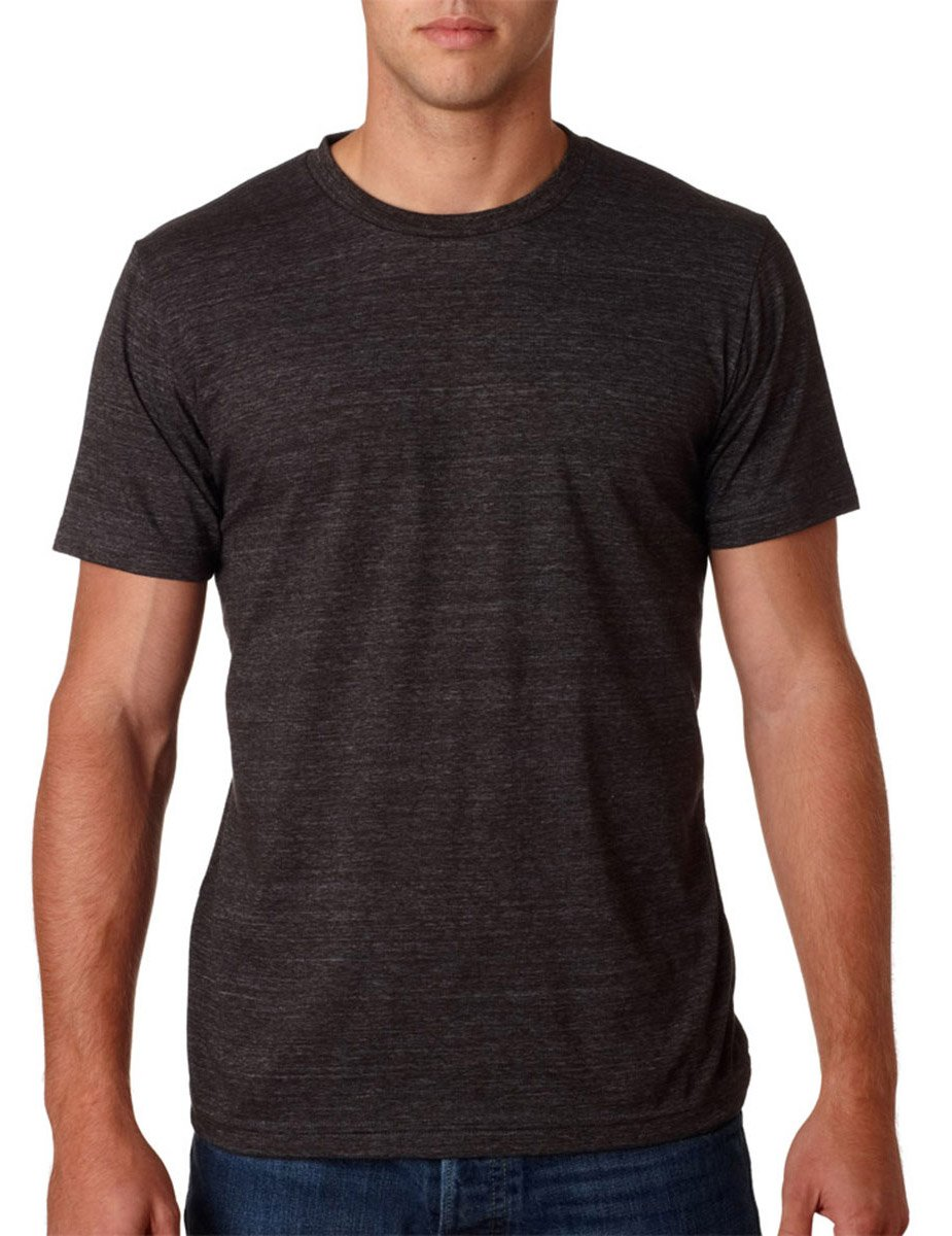 Canvas 3413 Adult Fitted Tri-Blend Tee - Charcoal Heather - 2XL