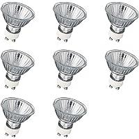 GU10 Halogeen Spotlampen, 8 Stuks Plafondlampen 35W Dimbaar, 2700K Warm Wit, 230V