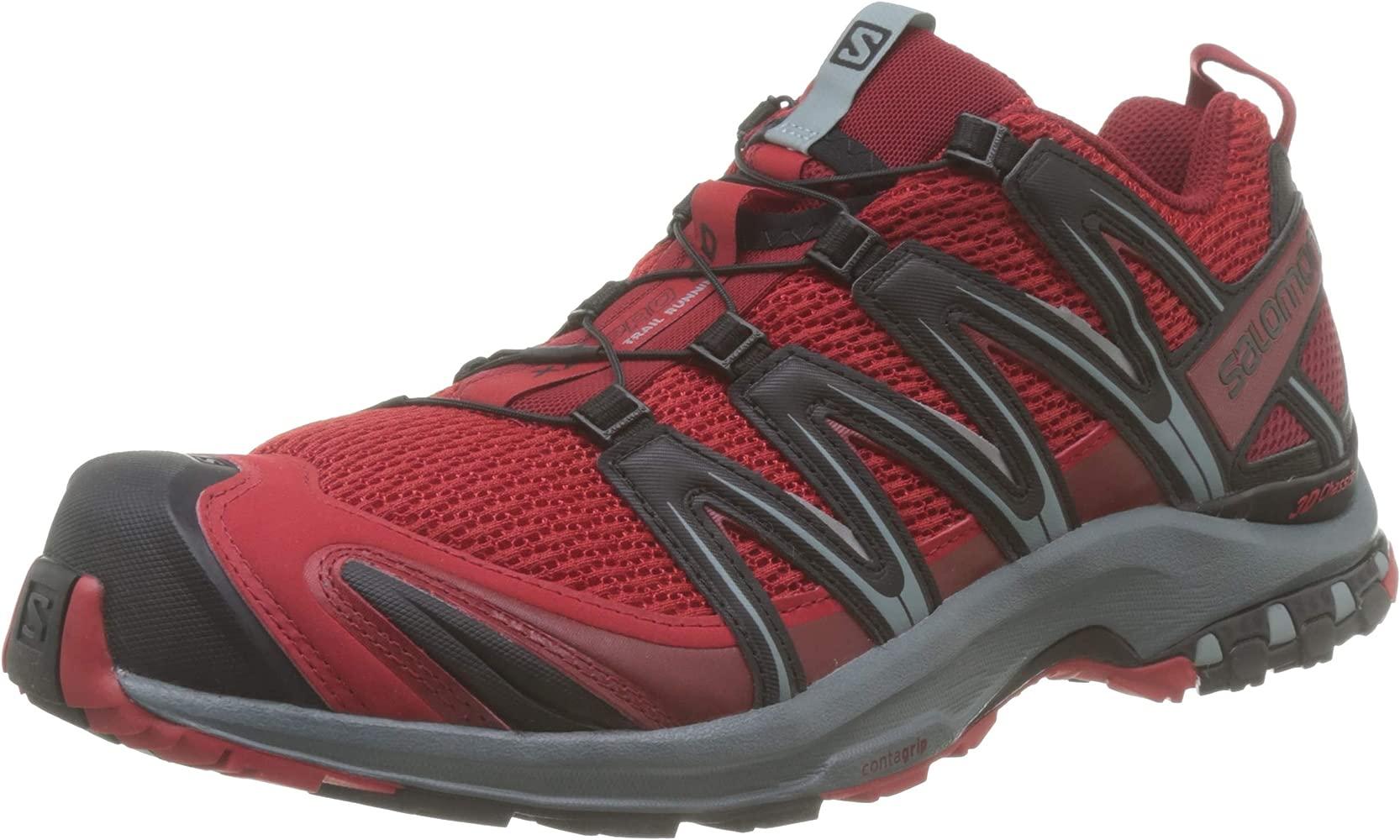 zapatillas salomon para trail running ni�o usado