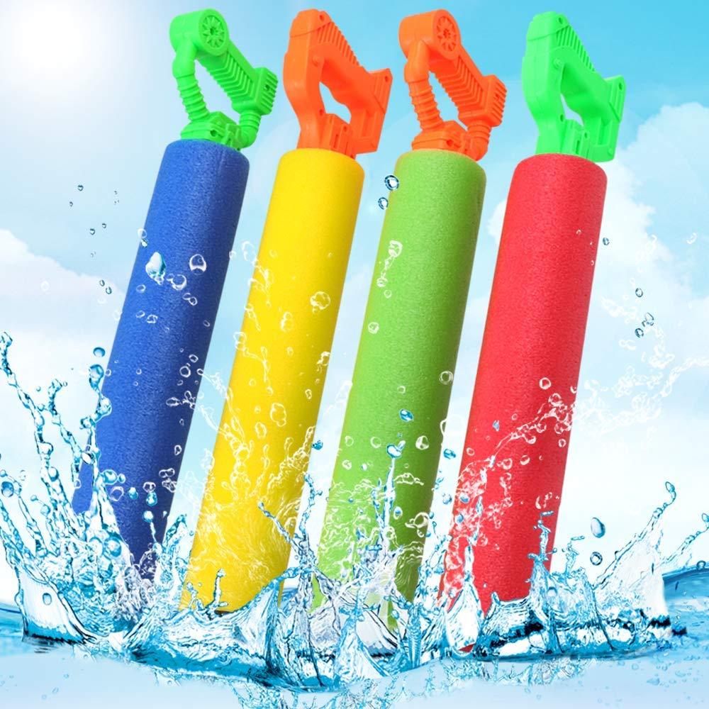 POKONBOY 8 Pack Water Guns for Kids Super Soaker Water Blaster Large Super Light Foam Squirt Guns Shooter Pool Toys - Summer Swimming Pool Beach Garden Water Toys for Boys Girls Adults by POKONBOY