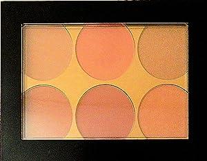 Sephora Contour Blush Palette - Six Matte and Shimmer Shades