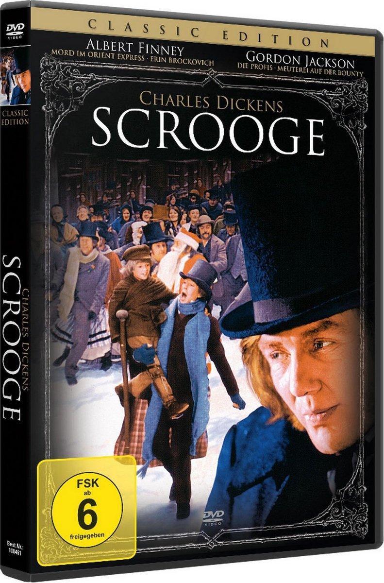 Charles Dickens: Scrooge (1970) [DVD]: Amazon.de: Albert Finney ...