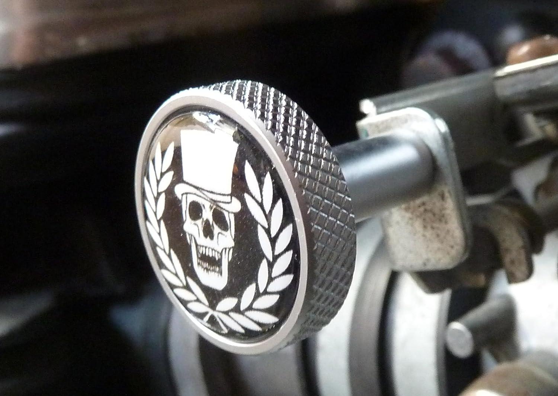 Choke ckoke pulsante alluminio Triumph Scrambler Bonneville Thruxton America Speed Master 40213