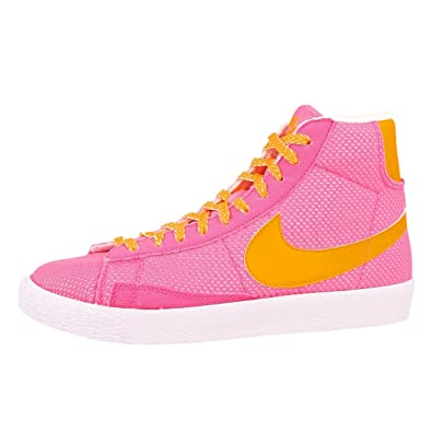 info for 39a71 d40d2 Nike Girls' Blazer Mid Vintage (GS) High-top Trainers