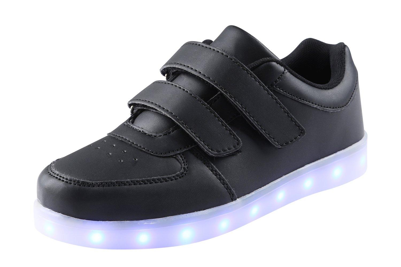 AFFINEST Kids Scarpe LED Carica USB 7 Colori Lampeggiante outdoor Sneaker di Natale del Regalo per i bambini ragazze e gSCnAH