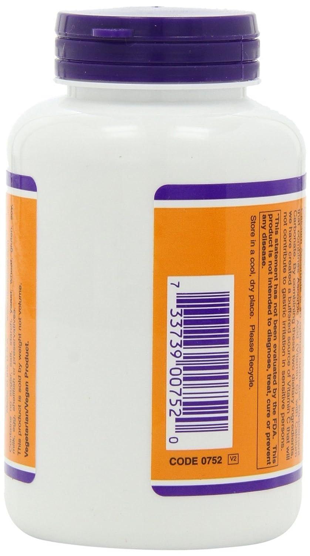 El ascorbato de calcio, 100% puro tamponada vitamina C en polvo, a 8 oz (227 g) - Now Foods: Amazon.es: Salud y cuidado personal