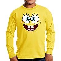 Camiseta Manga Larga de NIÑOS Bob Esponja Calamardo Spongebob 003