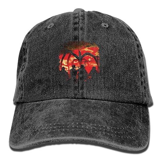 6d89f4477f3 FUNINDIY Classic Unisex Baseball Cap Ball Hat Stranger Things at Amazon  Women s Clothing store