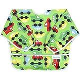 Hippychick Bumkins Sleeved Bib - Green