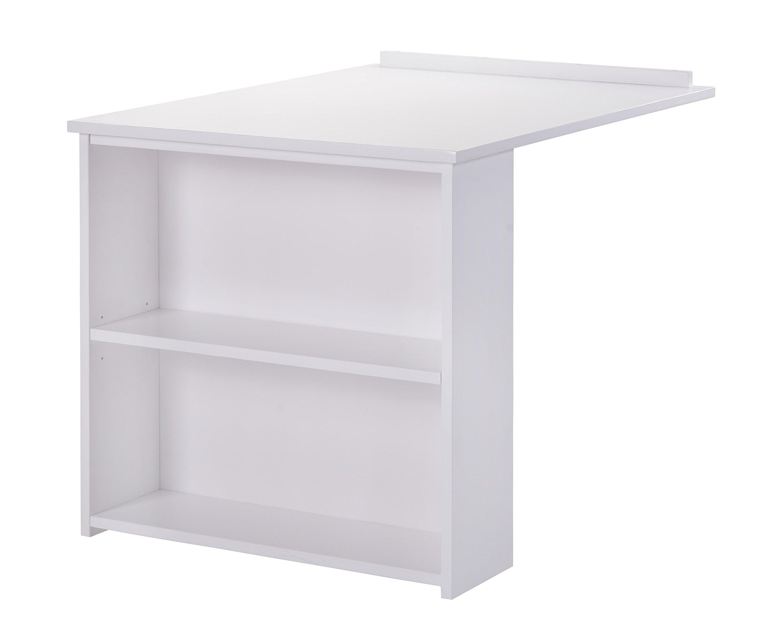 Whistler Junior Slide Out Desk - White