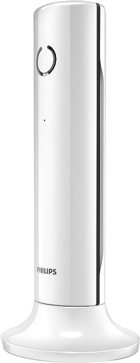 Teléfono Inalámbrico PHILIPS M3301W/23 Blanco, Manos Libres: Amazon.es: Electrónica