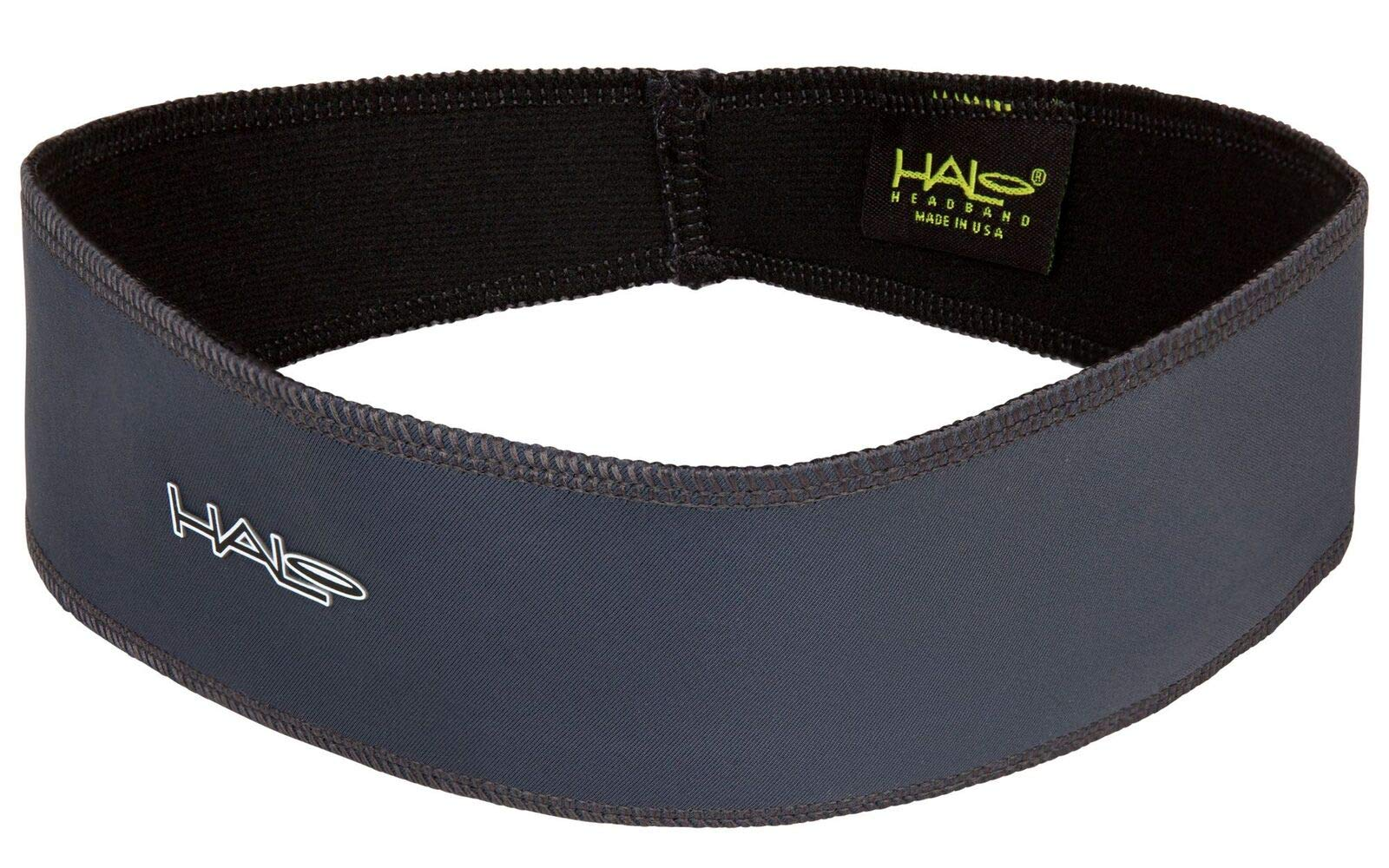 Halo II Headband Sweatband Pullover, Charcoal by Halo Headbands