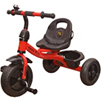 BABY TRICYCLE FOR KIDS WITH BASKET SKY REDE COLOUR KIDS TRICYCLE RECOMMENDED TRICYCLE FOR BABY GIRL OR TRICYCLE FOR BABY BOY OR TRICYCLE FOR TODDLER GIRL OR TRICYCLE FOR TODDLER BOY RECOMMENDED FOR TODDLER 1,2,3,4,5 YEAR CHILDREN TRICYCLE FOR KIDs