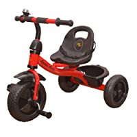 Baby Tricycle for Kids with Front & Basket Recommended for Toddler 1,2,3,4,5 Year Old Children Tricycle for Kids (Red)