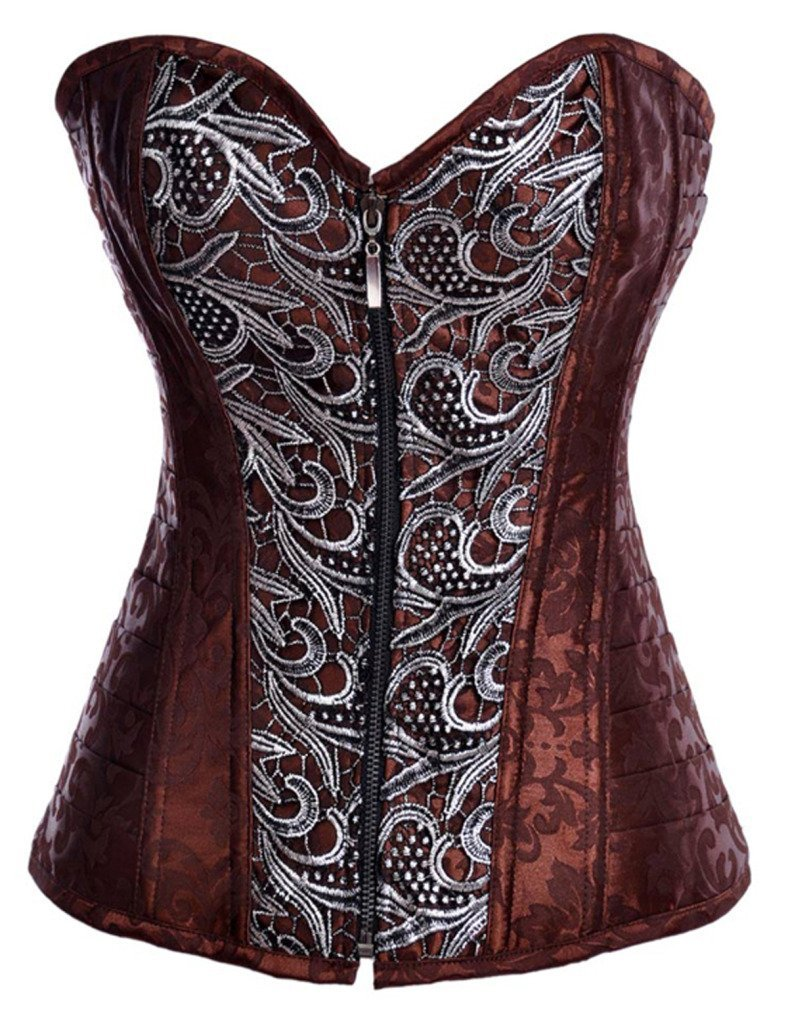 f1b8483d7f9 Y Fashion Womens Sexy Steampunk Gothic Steel Boned Vintage Corset product  image