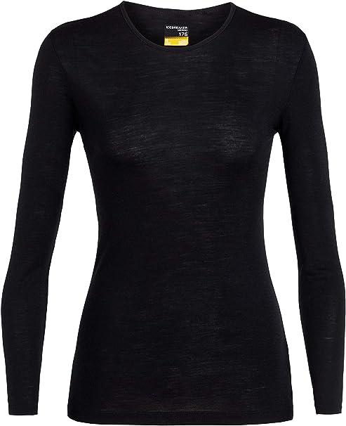 Icebreaker Damen 175 Everyday Ls Crewe T Shirt