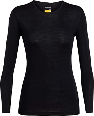 Icebreaker WMNS 175 Everyday Ls Crewe Base Layer Top