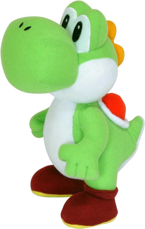 Nintendo Super Mario - Muñeco de Peluche de Yoshi (24 cm): Super ...